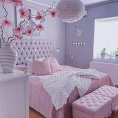 Best Blush Pink And Lovely Bedroom Design Ideas Part 1 ; pink bedroom ideas for women; pink bedroom ideas for kids; pink bedroom ideas for adults; pink bedroom grown up Cute Bedroom Ideas, Cute Room Decor, Girl Bedroom Designs, Design Bedroom, Girls Pink Bedroom Ideas, Bedroom Ideas For Women Cozy, Elegant Girls Bedroom, Simple Bedroom Design, Bedroom Styles