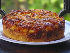 orange polenta cake Orange Polenta Cake, Polenta Cakes, Orange Blossom Water, Lemon Recipes, French Toast, Cooking, Breakfast, Food, Lime Recipes