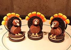 Made these Oreo turkeys for my students for a little thanksgiving treat!