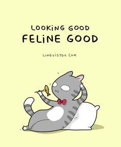 Lingvistov.com - #illustrations, #doodles, #joke, #humor, #cartoon, #cute, #funny, #comics, #greeting #cards, #joke, #drawing, #lingvistov, #cats