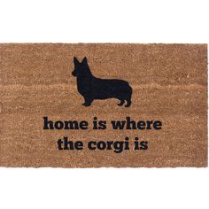 You'll love the Aqua Shield Corgi Doormat at Wayfair - Great Deals on all Décor  products with Free Shipping on most stuff, even the big stuff.