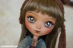 """OOAK """"Gingerbread Girl"""" Full Custom Pullip"""