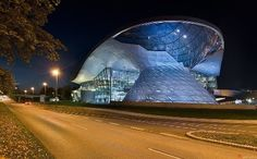 BMW Welt (BMW World)  Munich, Germany. This place was fabulous. So worth the visit if you love BMWs