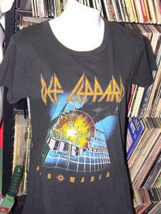 Vintage 1983 Def Leppard Rock Concert TShirt Medium by theleechpit, $63.00
