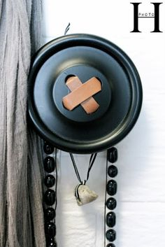 Love these for the home......  what a great idea for hanging things in my craft room or curtain tiebacks.