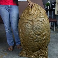 Life Size Alien Egg c/w Carpet Lifesize 1:1 Alien Prop. $399.00, via Etsy.  Holy shit!