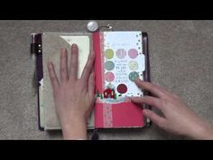 My 2015 planner setup in my Traveler's Notebook using Diyfish inserts - YouTube (like felt insert)