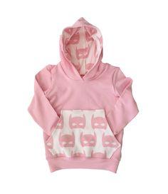 Pink Bat Mask Hoodie, Baby Girl Hoodie, Batman Superhero Sweatshirt for Babies and Kids by Grandmasbabyplace on Etsy https://www.etsy.com/listing/247102583/pink-bat-mask-hoodie-baby-girl-hoodie
