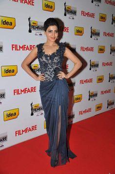 Samantha at 60th Idea Film Fare Awards
