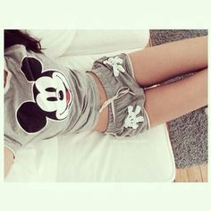 Micky Cozy Pjs. The shorts look a little weird though.. ~Kayla