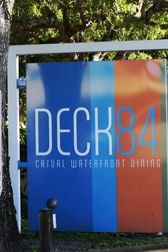 DECK 84 is terrific waterfront restaurants with amazing food and a vibrant atmosphere. This is a super Delray Restaurant with top notch local foods and excellent service. DECK 84 840 E Atlantic Ave Delray Beach, FL 33483