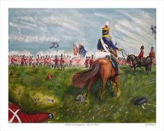 19th  Regiment of Light Dragoons- July 4, 1814 at Street's Creek a mile or so south of the Chippawa River, Upper Canada.