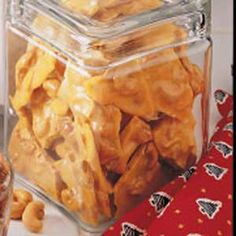 CASHEW BRITTLE--SOOOOO MUCH YUMMIER THAN PEANUT BRITTLE!