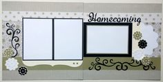 12x12 scrapbook layout  Premade scrapbook page  by ohioscrapper