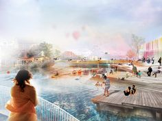 Mandaworks and Hosper Sweden Win Floda City Center Competition | Bustler