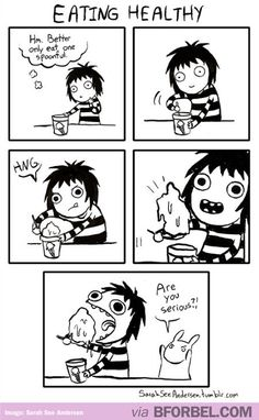 When I try to eat healthy… #food #iceCream #yum