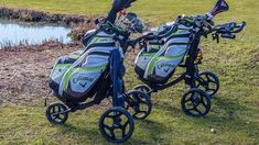 When looking for the best top rated golf carts we will start with the oldest or most basic type first, the pull cart which is the least expensive. Electric Golf Cart, Golf Instructors, Golf Score, Wii Sports, New Golf, 3rd Wheel, Pencil Bags, Golf Lessons, Play Golf