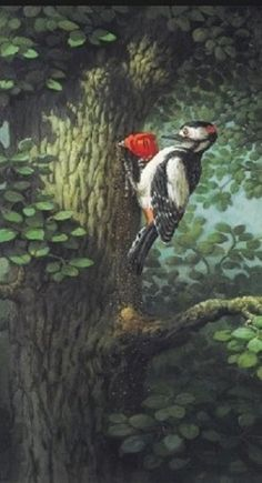 Michael SowaMichael Sowa (born 1945) is a German artist known mainly for his paintings, which are variously whimsical, surreal, or stunning.More Pins Like This At FOSTERGINGER @ Pinterest Michael Sowa, Faraway Tree, The Beautiful South, Children's Book Illustration, Surreal Art, Tree Art, Bird Art, Illustrators, Images