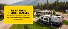 Learn About RV Classes   KOA Camping