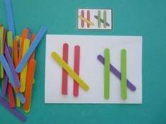 Montessori Activities, Kindergarten Activities, Teaching Math, Preschool Activities, Math For Kids, Math Worksheets, Math Games, Pattern Blocks, Special Education