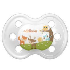 Cute Woodland Animal Pacifier Pacifier