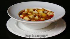 Matyi Eva: Komenymagleves Hungarian Cuisine, European Cuisine, Hungarian Recipes, Chana Masala, Sweet Potato, Vegan Recipes, Food And Drink, Potatoes, Vegetables