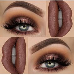 "I really love brown shades --- BROWS: Dipbrow Pomade ""Chocolate"" ✨ --- EYES: eyeshadow palette for the entire eye look ✨…More Best prom makeup -- makeup ideas for prom or mac prom makeup CLICK Visit link above to read Makeup Goals, Makeup Inspo, Makeup Inspiration, Makeup Ideas, Makeup Kit, Makeup Tutorials, Makeup Products, Fall Makeup Tutorial, Makeup Style"