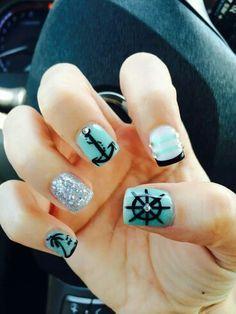 simple nail art designs latest 2015