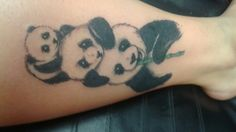 Tattoo pandas