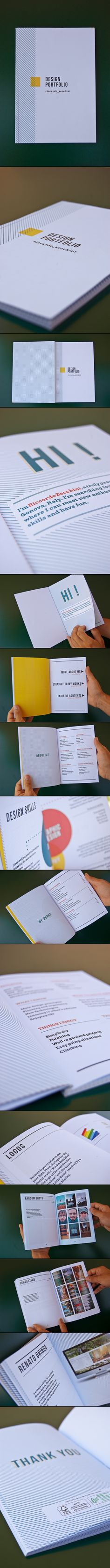 Great idea for design portfolio!