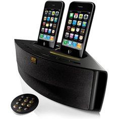 Altec Lansing M202 Octiv Duo Dual-Dock Speaker/Charger