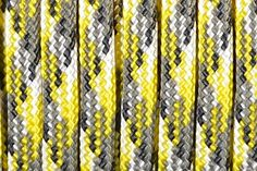 BoredParacord Brand 550 lb Yellow Camo Paracord 50 feet >>> For more information, visit image link.Note:It is affiliate link to Amazon.