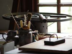 Bindery Tools - Colonial Williamsburg