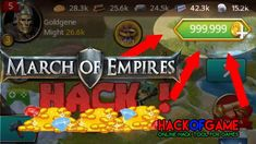 March Of Empires Hack Get Free Unlimited Gold To Your Account! March Of Empires Hack, Gold Live, Cheat Engine, Play Hacks, New March, App Hack, Gaming Tips, Android Hacks, Hack Online