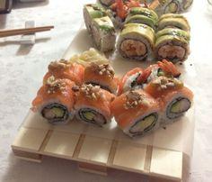 Fichi Almond Sushi Roll