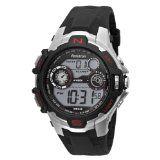 Armitron Men's 408197RED Sport Silver-Tone Digital Chronograph Watch (Watch)  #watch #apparel