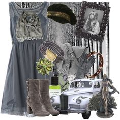 """""""You Can Go Your Own Way/Riding Through the Forest With Stevie Nicks"""" by dinahcat on Polyvore"""