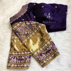 65 ideas for womens fashion dresses work stitches Wedding Saree Blouse Designs, Half Saree Designs, Pattu Saree Blouse Designs, Blouse Designs Silk, Kurti Designs Party Wear, Maggam Works, Beautiful Blouses, Work Blouse, Embroidery