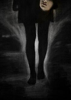 a Night Portrait by Fieke van Dieren