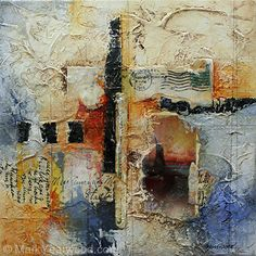 Conversations by Mark Yearwood Mixed Media ~ 10'' x 10''