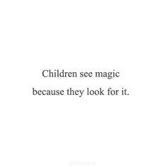 Image de quote, child, and magic