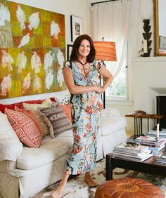 Gain Access To A Million Dollar Decorator's Super-Chic Santa Monica Pad! Kathryn Ireland