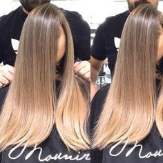 Hazelnut color  by @mouniiiir  #haircolor #hairvideo #mouniiiir #hairextensions #hairvideos #hudabeauty #hair #hairvideo #hair #hairdo #love #like #hairstyle #egypt #qatar #kwt #uae #paris #london #morocco #usa #followforfollow #like4like #instamood #instagram @hairvideo.mounir