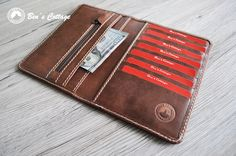 Hey, I found this really awesome Etsy listing at https://www.etsy.com/listing/215275237/leather-wallet-swiss-all-in-one-leather
