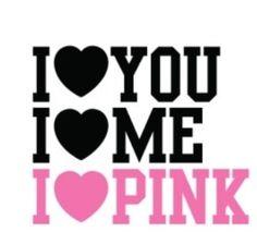 I <3 you. I <3 me. I <3 pink. #iloveNYC