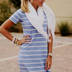 Scarves and stripes xo
