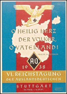 NS-Plakat zum Auslandsdeutschtum
