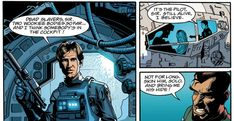 Han Solo Served in the Imperial Navy And Saved Chewie...