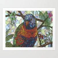 Art Print featuring The Bird by Juliana Kroscen Got Print, Prints For Sale, Framed Art Prints, Birds, Artwork, Painting, Originals, Homes, Design