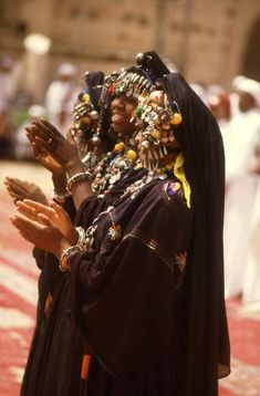 Africa | Tissinit woman from southern Morocco, at a festival in Marrakesh, Morocco | Photographer unknown.